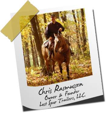 Chris Rasmussen, founder of Lost Spur Trailers
